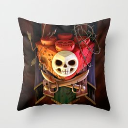 The Dread Two-By-Two Throw Pillow