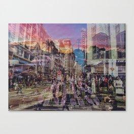 San Francisco city illusion Canvas Print