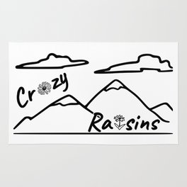 Crazy Raisins Rug