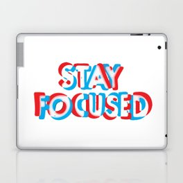 Stay Focused_vectorized Laptop & iPad Skin