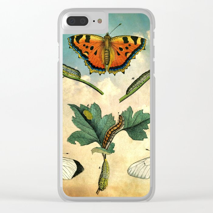 Sky Bugs Clear iPhone Case