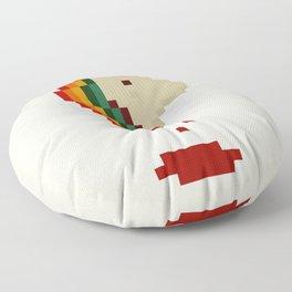 unicorn`s head Floor Pillow