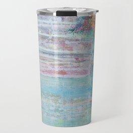 Tides of change (New beginnings) - original textured painting, prophetic art Travel Mug
