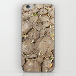 Cutted tree iPhone Skin