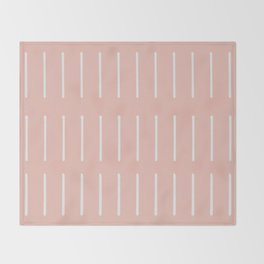 Organic / Blush Throw Blanket