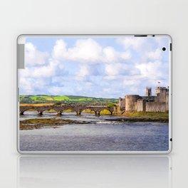 Thomond Bridge and King Johns Castle Laptop & iPad Skin