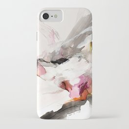 Day 23: Senses may override the mind, but a steady mind can abrogate the senses. iPhone Case