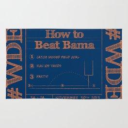 How to beat Bama Rug