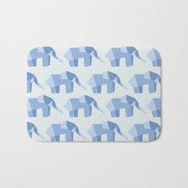 E is for Elephant  Bath Mat