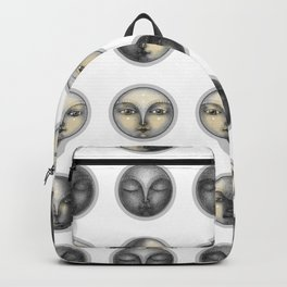 moon phases and romanticism Backpack