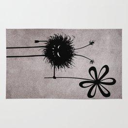 Evil Flower Bug Rug