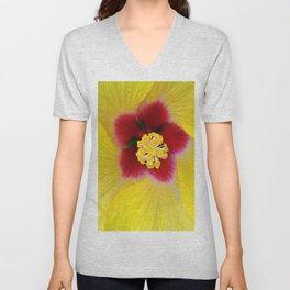 Yellow flower ## Unisex V-Neck