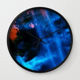 Blue Joy Wall Clock