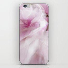 Pink Magnolia Swirl iPhone Skin