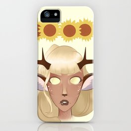 Oh Deary. iPhone Case