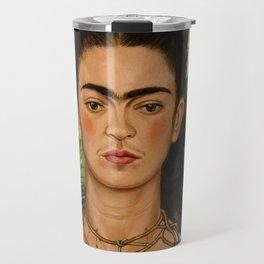 Frida Kahlo Painting I Travel Mug