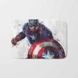 CaptainAmerica Bath Mat