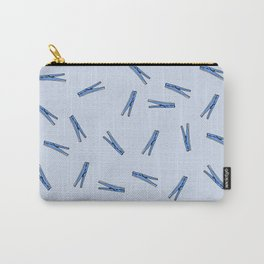 Clothes Pins Carry-All Pouch