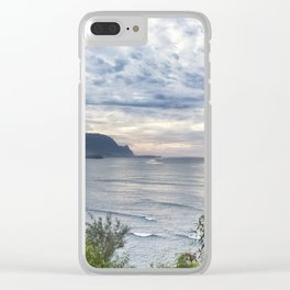 Hanalei Bay Sunset Clear iPhone Case