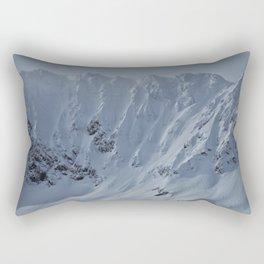 Alaska Mountains Rectangular Pillow