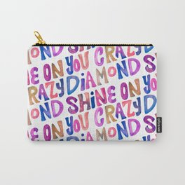 Shine On Your Crazy Diamond – Vintage Palette Carry-All Pouch
