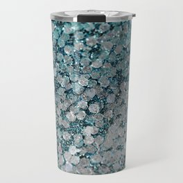 Mermaid Scales Aqua Sol Travel Mug