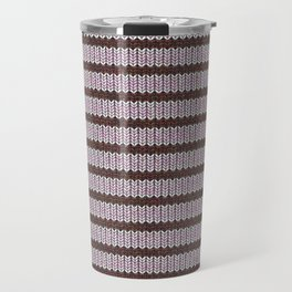 Pink Roses in Anzures 1 Knit 1 Travel Mug