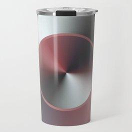 Serene Simple Hub Cap in Red Travel Mug