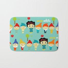 Snow White and the 7 dwarfs Bath Mat