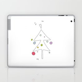 Cute Graphic Christmas Tree Laptop & iPad Skin