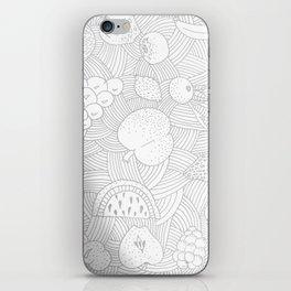 Fruit Faded iPhone Skin