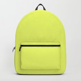 Lemon Yellow - Solid Color Collection Backpack