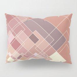 GeoPink Pillow Sham