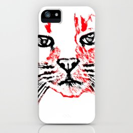 Cat Attack iPhone Case