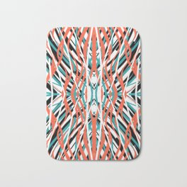 Swirling Shield | Saro-Gongo Pattern Bath Mat