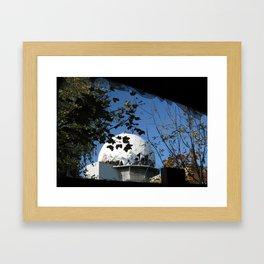 Berlin, Teufelsberg, Radar, Cold war, Army, NSA, ECHELON Framed Art Print