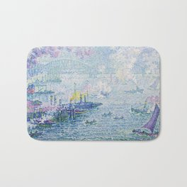 The Port of Rotterdam Bath Mat