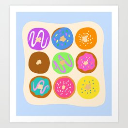 Donut Time Art Print