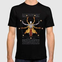 Vitruvian Omnic - color version T-shirt
