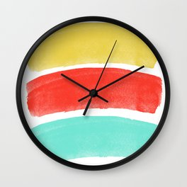 Burst's Of Lines Wall Clock