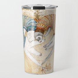 Ferret love Travel Mug