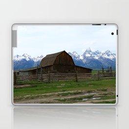Mormon Row Iconic Barn Laptop & iPad Skin