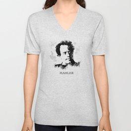 Gustav Mahler Unisex V-Neck