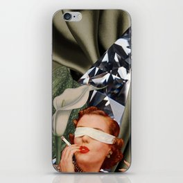 Blind Lily iPhone Skin