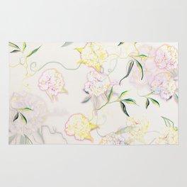 Pastel Hydrangea Rug