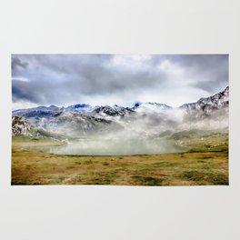 Lago Ercina in National park Picos de Europa Rug