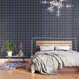 Swirly Sunflower Wallpaper