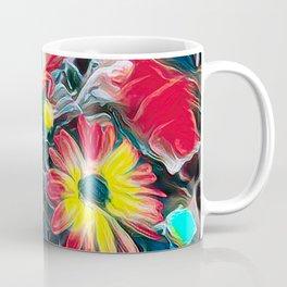 abstract gerbera daisy Coffee Mug