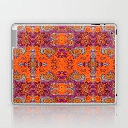 Boho Hippie Garden Pattern Laptop & iPad Skin
