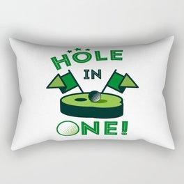 Funny Golf Gift Golfer Golfing Hole In One Rectangular Pillow